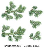 vector collection of christmas... | Shutterstock .eps vector #235881568