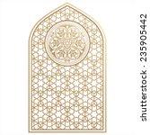 arabian ornament   Shutterstock .eps vector #235905442