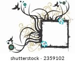 illustration of a grungy frame | Shutterstock .eps vector #2359102