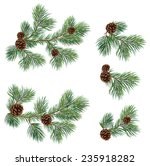 vector collection of christmas... | Shutterstock .eps vector #235918282