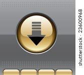 vector glossy site navigation... | Shutterstock .eps vector #23600968