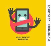 no cell phones   icon logo...