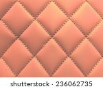 buttoned on the orange texture. ... | Shutterstock . vector #236062735