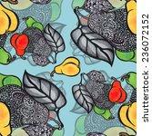 delicate pear  pattern | Shutterstock . vector #236072152
