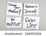 motivational inspirational... | Shutterstock . vector #236092306
