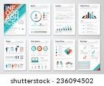 infographic flyer and brochure... | Shutterstock .eps vector #236094502