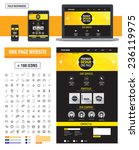 one page website template....