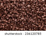 chocolate chips background | Shutterstock . vector #236120785