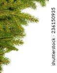 christmas green framework... | Shutterstock . vector #236150935