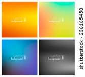 abstract colorful smooth... | Shutterstock .eps vector #236165458