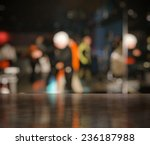 Stock photo bar in a night club near dancefloor 236187988