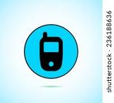 telephone vector icon  | Shutterstock .eps vector #236188636