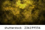 Abstract Golden Mosaic...