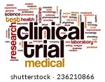 clinical trial word cloud... | Shutterstock . vector #236210866