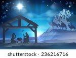 religious nativity christian... | Shutterstock . vector #236216716