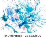 abstract watercolor art. vector ...   Shutterstock .eps vector #236223502