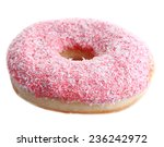 Delicious Donut Isolated On...