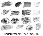 pencil drawing.  | Shutterstock . vector #236256646
