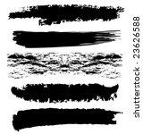 vector grunge brushes | Shutterstock .eps vector #23626588