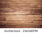 wood plank wall background | Shutterstock . vector #236268598