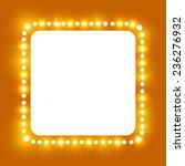 shining retro square banner. ... | Shutterstock .eps vector #236276932