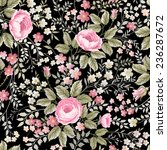 seamless floral pattern with... | Shutterstock .eps vector #236287672