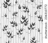 seamless  bamboo pattern. ... | Shutterstock .eps vector #236310772