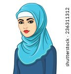 animation portrait of the... | Shutterstock .eps vector #236311312