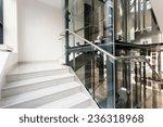 horizontal view of interior of... | Shutterstock . vector #236318968