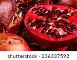The Half Pomegranate And Many...