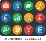 finance button set | Shutterstock .eps vector #236381725