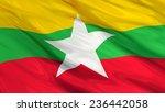 Flag Of Burma  The Republic Of...