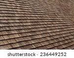 Roof Shingles Detail Of An Old...