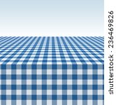 tablecloth vector background. | Shutterstock .eps vector #236469826