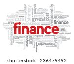 finance business concept in...