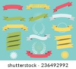 ribbons | Shutterstock .eps vector #236492992