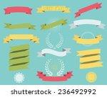 ribbons | Shutterstock .eps vector #236492992