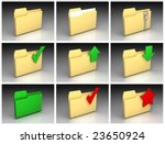 set of folder icons 1