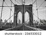 Standing Of The Brooklyn Bridge