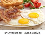 English Breakfast   Toast  Egg...