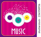 music design | Shutterstock .eps vector #236558956
