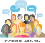 women group social networking...