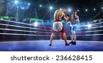 Two Professionl Boxers Are...