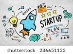 start up concept | Shutterstock . vector #236651122