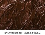 texture of chocolate icing... | Shutterstock . vector #236654662