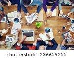 marketing analysis accounting... | Shutterstock . vector #236659255
