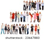 many people   Shutterstock . vector #23667883