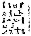 exercise 2 | Shutterstock .eps vector #23672602