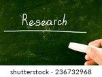 research concept | Shutterstock . vector #236732968