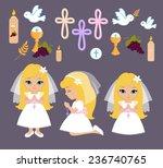 set of design elements for... | Shutterstock .eps vector #236740765